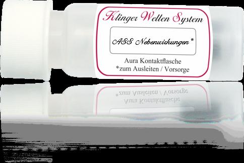 ASS Nebenwirkungen * Mini Kontaktflasche